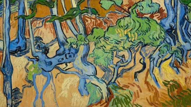 Último cuadro de Vincent van Gogh, Raíces.