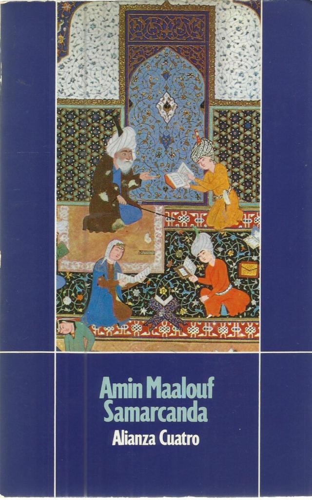 Amin Maalouf Samarcanda. Libro.