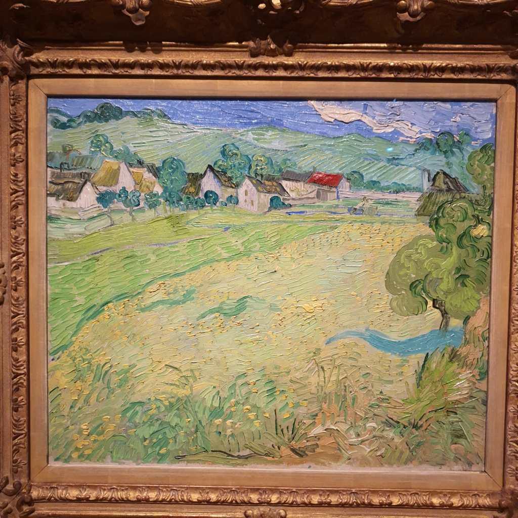 Les Vessenots en Auvers, Van Gogh.