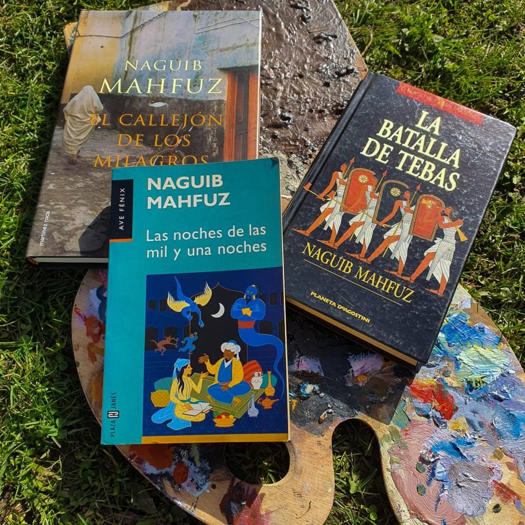 Novelas de Naguib Mahfuz