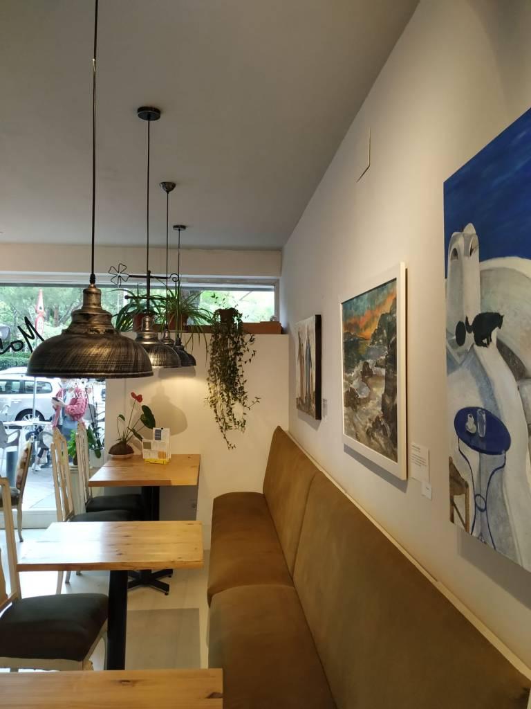 exposición Mamuka café